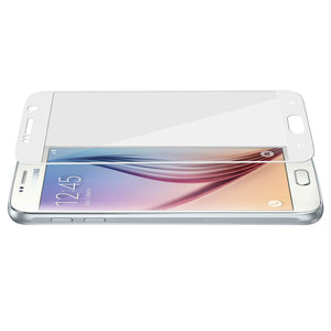 AMZER Tempered Glass HD Edge2Edge White Screen Protector Samsung Galaxy S6