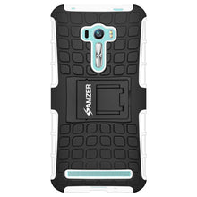 Load image into Gallery viewer, AMZER Warrior Hybrid Case for Asus Zenfone Selfie ZD551KL - Black/White
