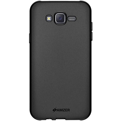 AMZER Pudding TPU Case - Black for Samsung Galaxy J7 SM-J700F