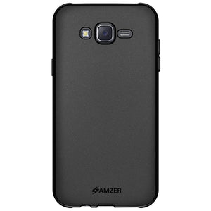 AMZER Pudding TPU Case - Black for Samsung Galaxy J5 SM-J500F