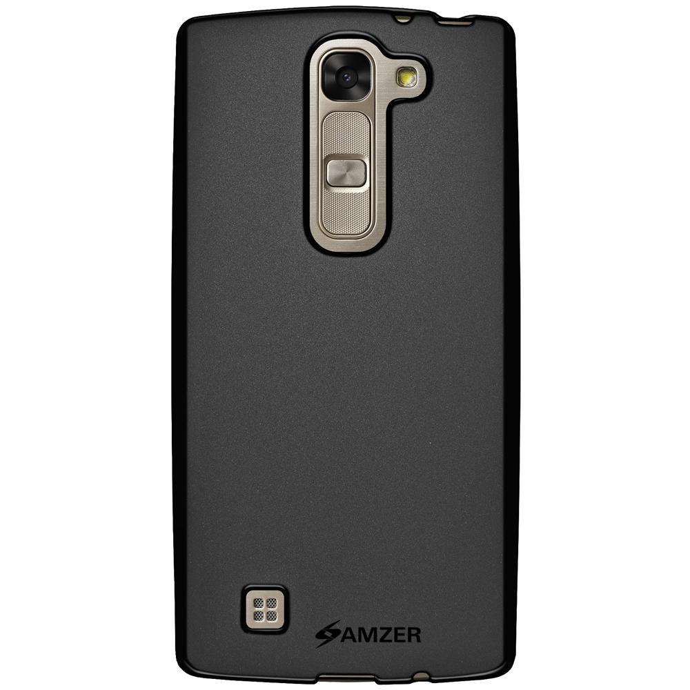 AMZER Pudding TPU Case - Black for LG G4c H525N