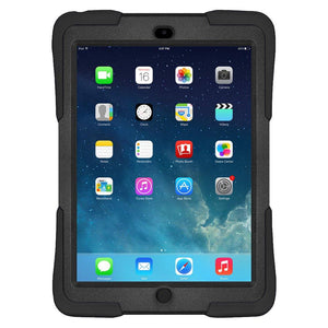 AMZER Dual Layer TUFFEN Shockproof Hybrid Cover for iPad Air - Black