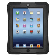 Load image into Gallery viewer, AMZER TUFFEN Case - Black for Apple iPad 4 with Retina Display