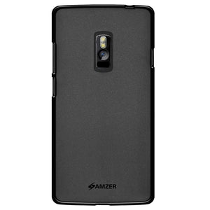 AMZER Ultra Thin Pudding Soft TPU Skin Case for OnePlus 2 - Black