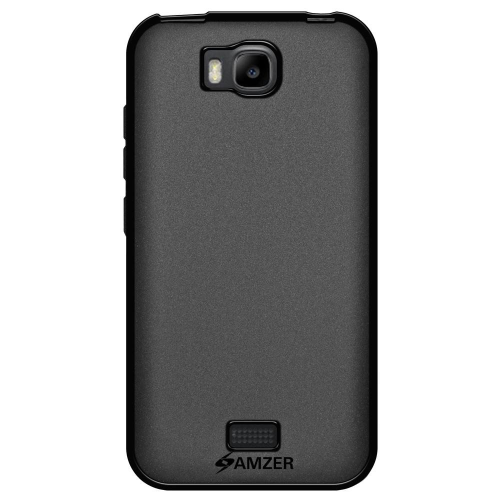 AMZER Pudding TPU Case - Black for Huawei Honor Bee