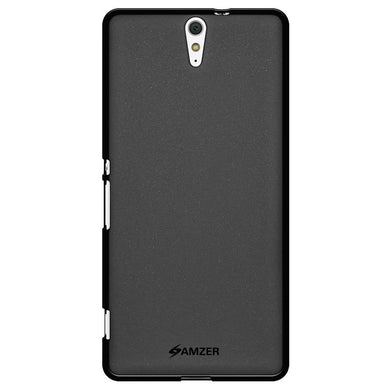 AMZER Pudding TPU Case - Black for Sony Xperia C5 Ultra