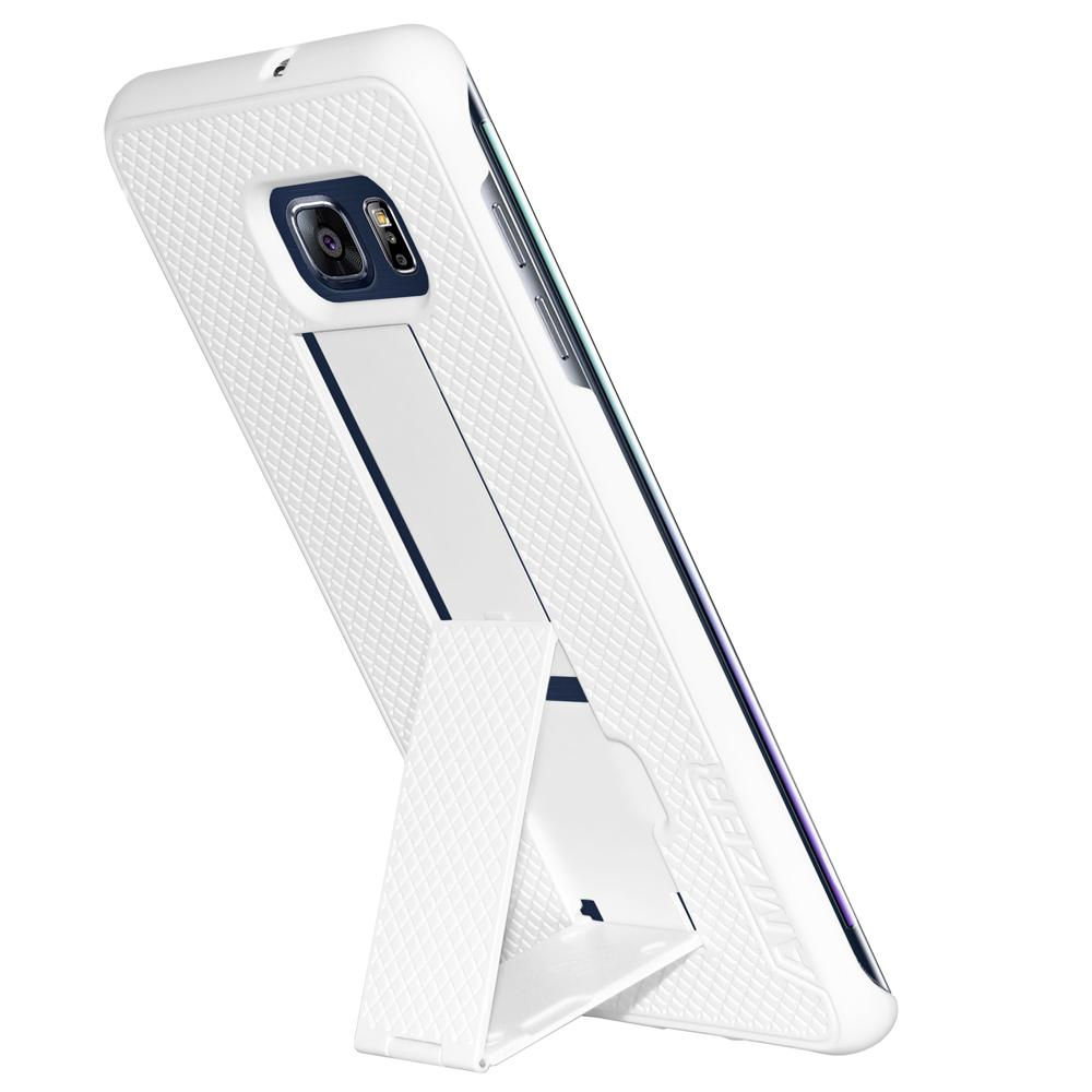 AMZER Snap Case with Kickstand White for Samsung Galaxy S6 edge Plus SM-G928F