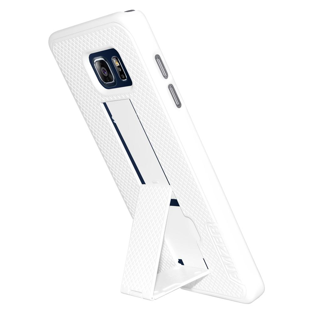 AMZER Snap On Case with Kickstand - White for Samsung Galaxy Note 5 SM-N920F