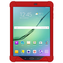 Load image into Gallery viewer, AMZER Shockproof Rugged Silicone Skin Jelly Case for Samsung GALAXY Tab S2 9.7