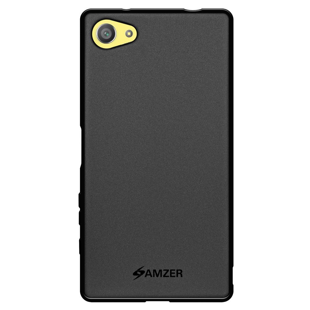 AMZER Pudding TPU Case for Sony Xperia Z5 Compact - Black