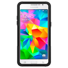 Load image into Gallery viewer, Amzer Double Layer Hybrid Case with Kickstand - Black/ Black for Samsung GALAXY Grand Prime SM-G530H