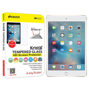 AMZER Kristal Tempered Glass HD Screen Protector for Apple iPad mini 4