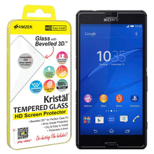 Load image into Gallery viewer, AMZER Kristal Tempered Glass HD Screen Protector for Sony Xperia Z4 Compact