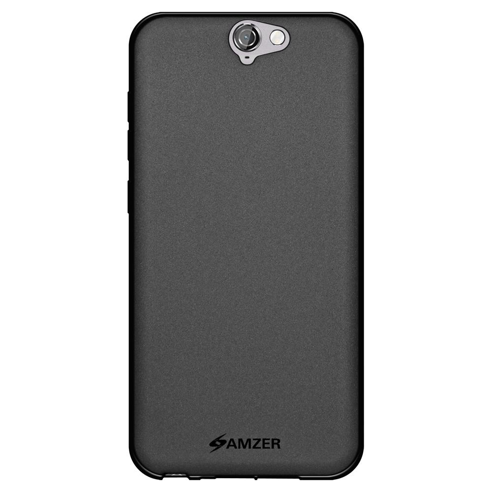 AMZER Pudding TPU Case - Black for HTC One A9