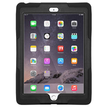 Load image into Gallery viewer, AMZER TUFFEN Case - Black for Apple iPad Air 2