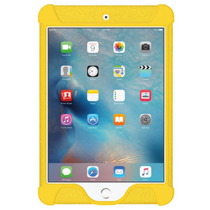 AMZER Shockproof Rugged Silicone Skin Jelly Case for Apple iPad mini 4 - Yellow