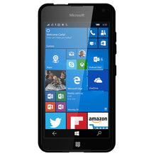 Load image into Gallery viewer, AMZER Pudding TPU Case - Black for Microsoft Lumia 650