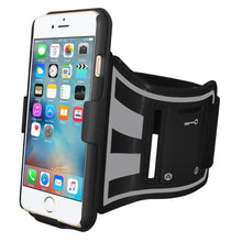 Load image into Gallery viewer, AMZER Jogging Gym Armband Workout Shellster Case For iPhone 6 Plus