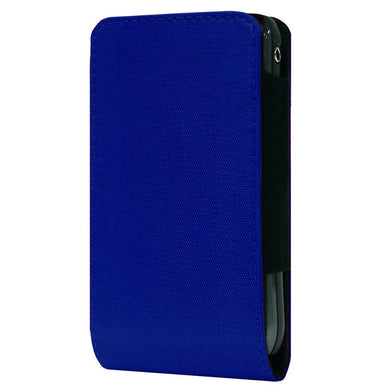 SmartPhone Slide In Neoprene Case With Belt Clip - Navy Blue for BlackBerry 7100g