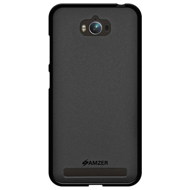 AMZER Pudding TPU Case - Black for Asus Zenfone Max ZC550KL