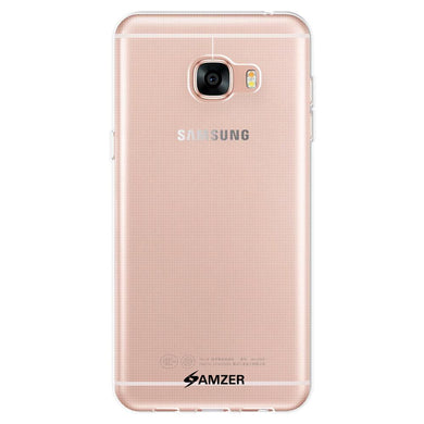 AMZER Pudding TPU Case - Clear for Samsung GALAXY C5 SM-C5000
