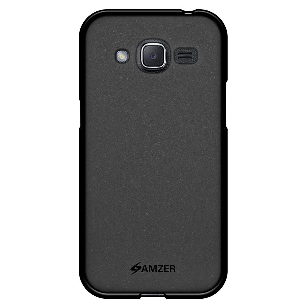 AMZER Pudding TPU Case - Black for Samsung Galaxy J2 2016 SM-J210