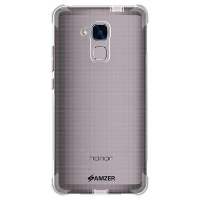 AMZER Pudding TPU X Protection Case - Crystal Clear for Huawei Honor 5C