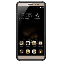 Load image into Gallery viewer, AMZER Shockproof Warrior Hybrid Case for Coolpad Max - Black/Black