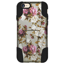 Load image into Gallery viewer, Amzer Dual Layer Designer Case with Stand for iPhone 6 6S - Romantic Roses