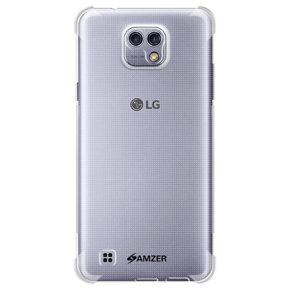 AMZER Pudding TPU X Protection Case - Crystal Clear for LG X Cam