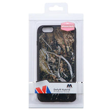 Load image into Gallery viewer, MYBAT Hybrid Phone Protector Cover - Yellow-Black Vine/Black Defyr for iPhone 6