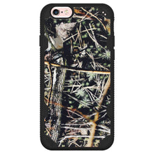 Load image into Gallery viewer, MYBAT Hybrid Phone Protector Cover - Cedar Tree-Hunting Camouflage Collection/ Black Defyr for iPhone 6