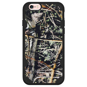 MYBAT Hybrid Phone Protector Cover - Cedar Tree-Hunting Camouflage Collection/ Black Defyr for iPhone 6