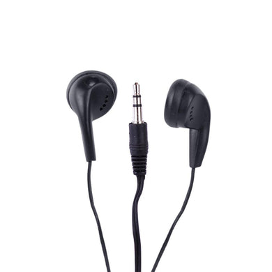 Vibe Color Tunes VS-120 In-Ear Stereo Headphones - Black