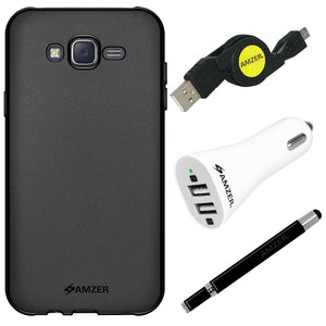 AMZER® Essential Combo Pack for Samsung Galaxy J7 SM-J700F
