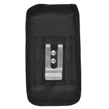 Load image into Gallery viewer, Heavy Duty Vertical Nylon Case with Belt Clip - Black for iPhone 6
