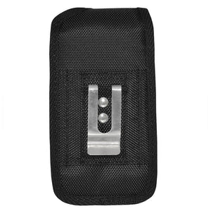 Heavy Duty Vertical Nylon Case with Belt Clip - Black for iPhone 6