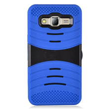 Load image into Gallery viewer, Premium Armor Case With Stand - Black/ Blue for Samsung Galaxy On5