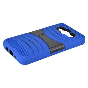 Premium Armor Case With Stand - Black/ Blue for Samsung Galaxy On5