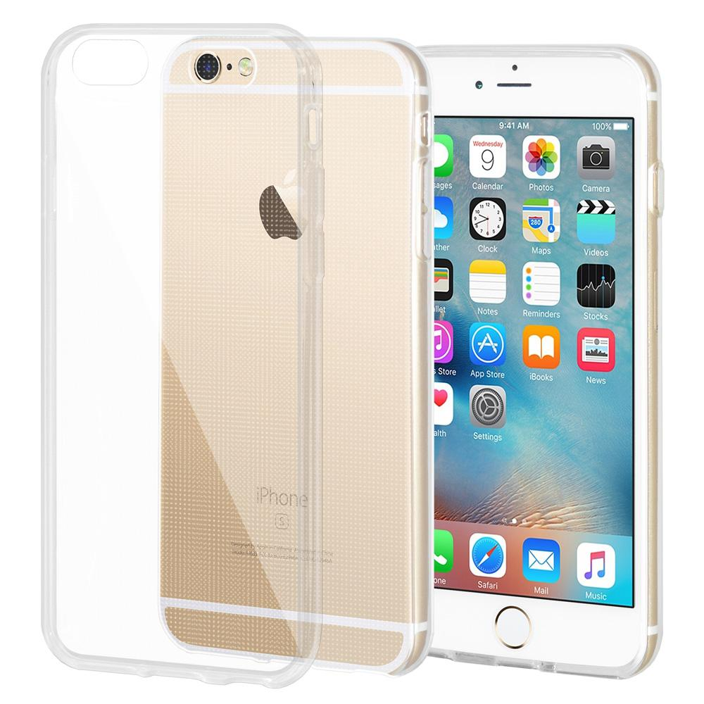 Slim Thin TPU Cover for iPhone 6 - Clear