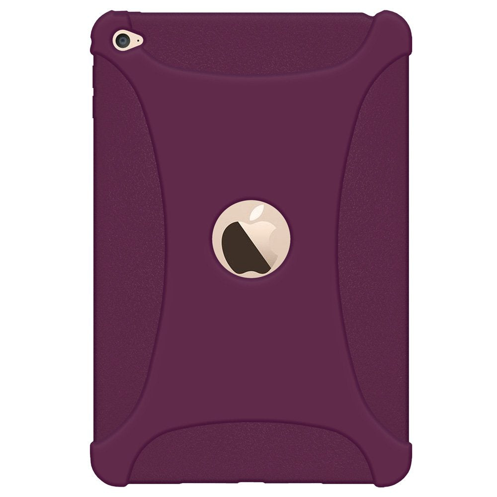 Amzer Silicone Skin Jelly Case - Purple for Apple iPad mini