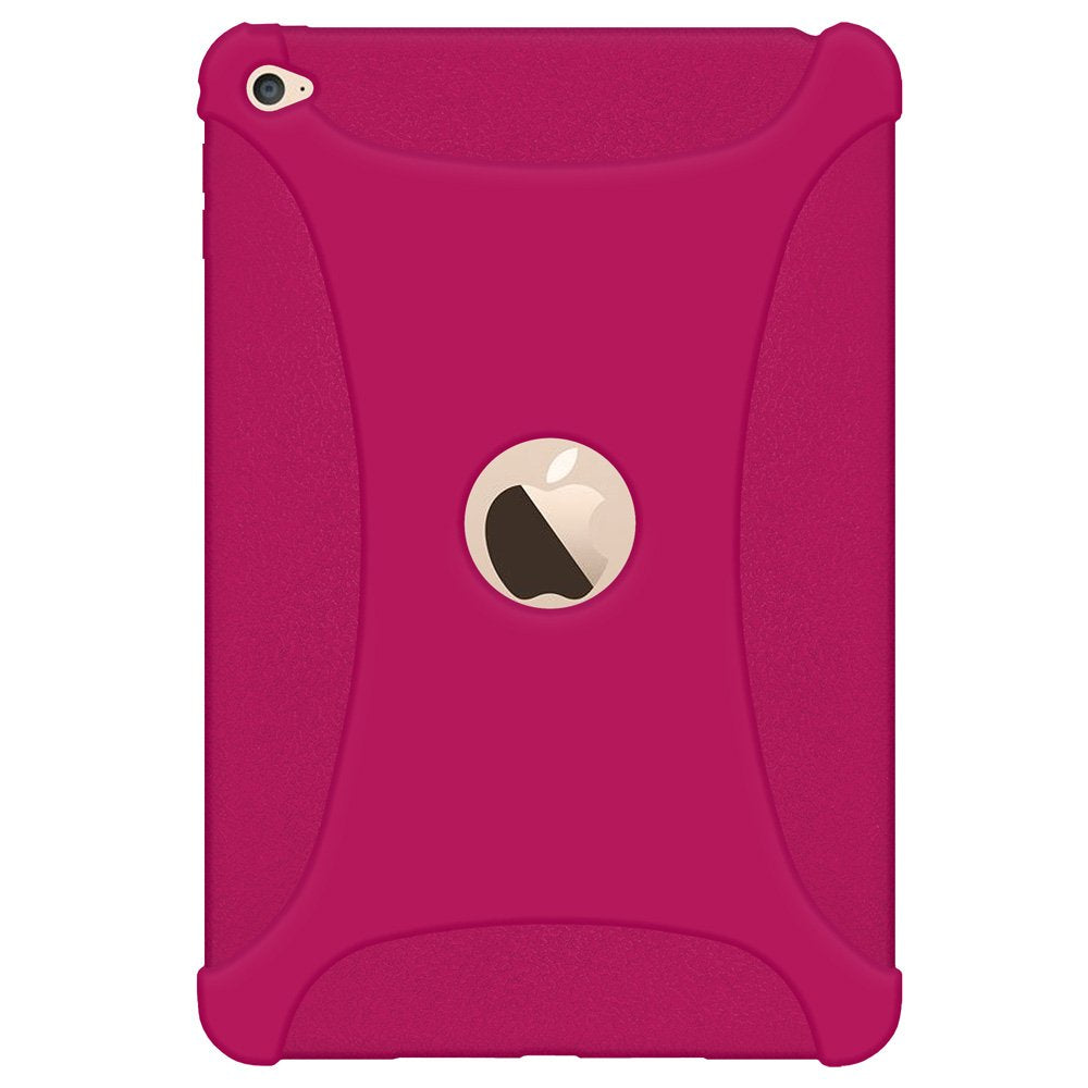 Amzer Silicone Skin Jelly Case - Hot Pink for Apple iPad mini 1st Gen