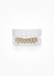 BOTTOM 8 | 18k GOLD | Iced Out