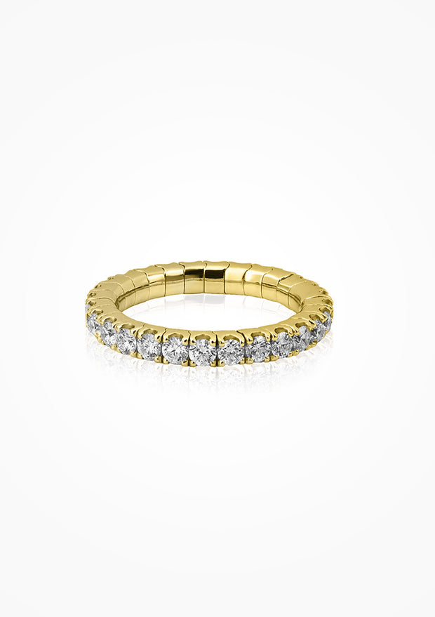 MZ Stretch Ring Diamant