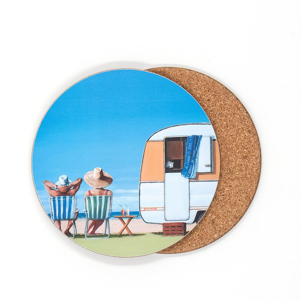 Coaster Graham Young Caravan Coaster