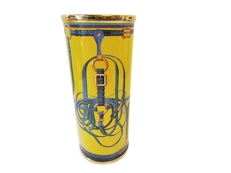Stirrup Vase Yellow