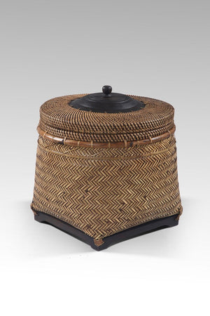DROP BASKET WITH LID