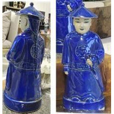 Blue Figurine