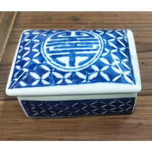 Ceramic  Oblong Box