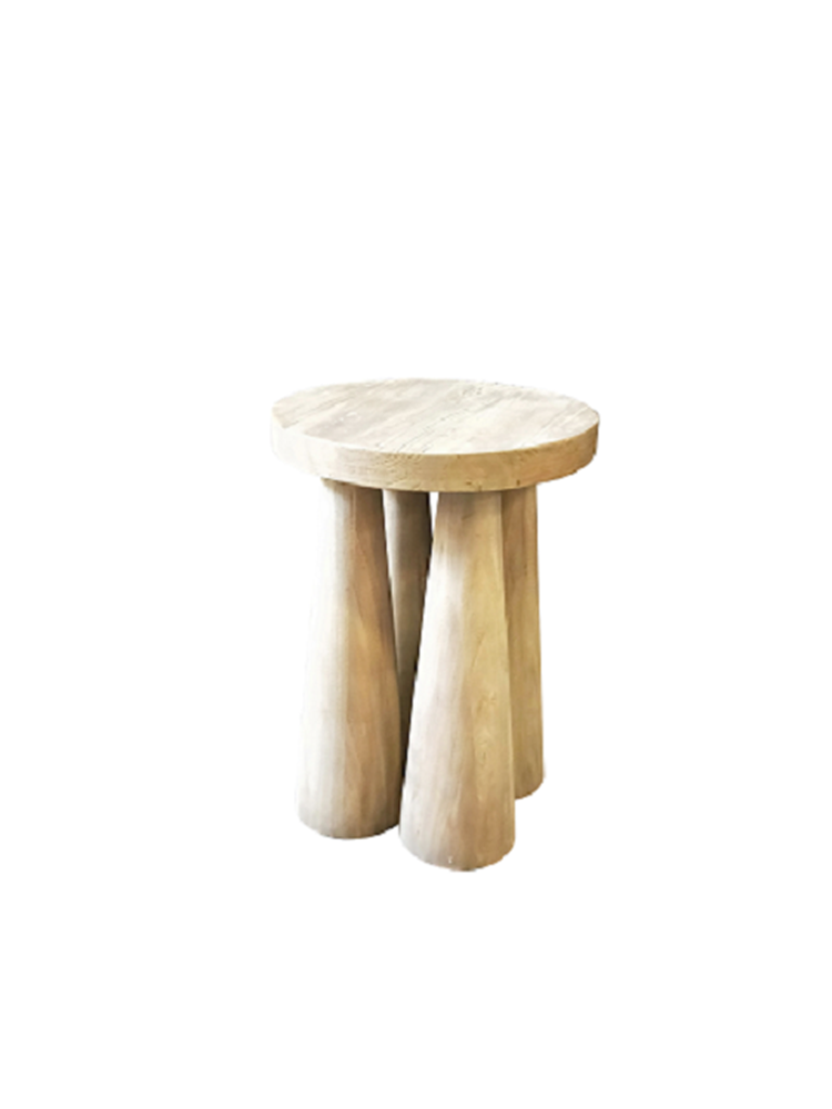 Robust wooden Stool